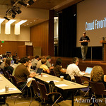 Stephen O&#039;Grady of RedMonk presents at WordCamp 2008.