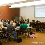 Developer tech sessions at WordCamp 2008 in San Francisco.