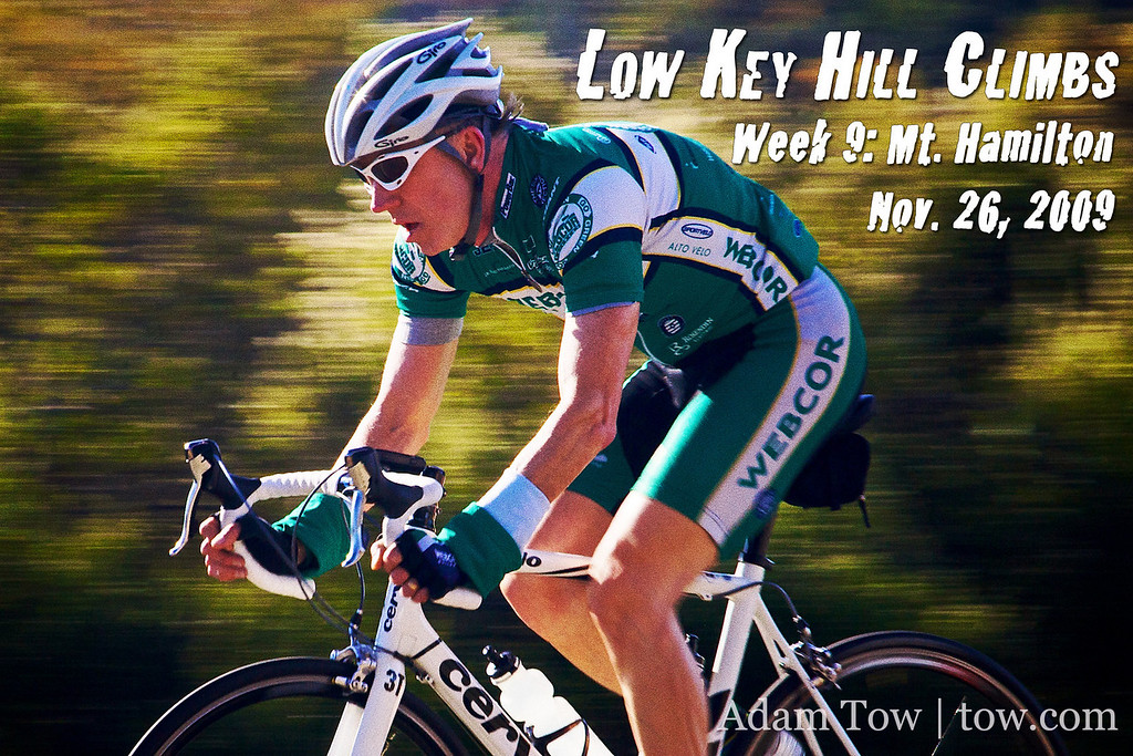 Low Key Hill Climbs Week 9: Mt Hamilton