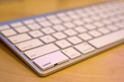 Apple Wireless Keyboard - fn key to control key