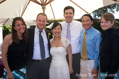 Country Day alums at David and Audrey's wedding in La Jolla